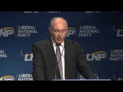 2014 LNP Convention - Deputy Prime Minister Warren Truss MP