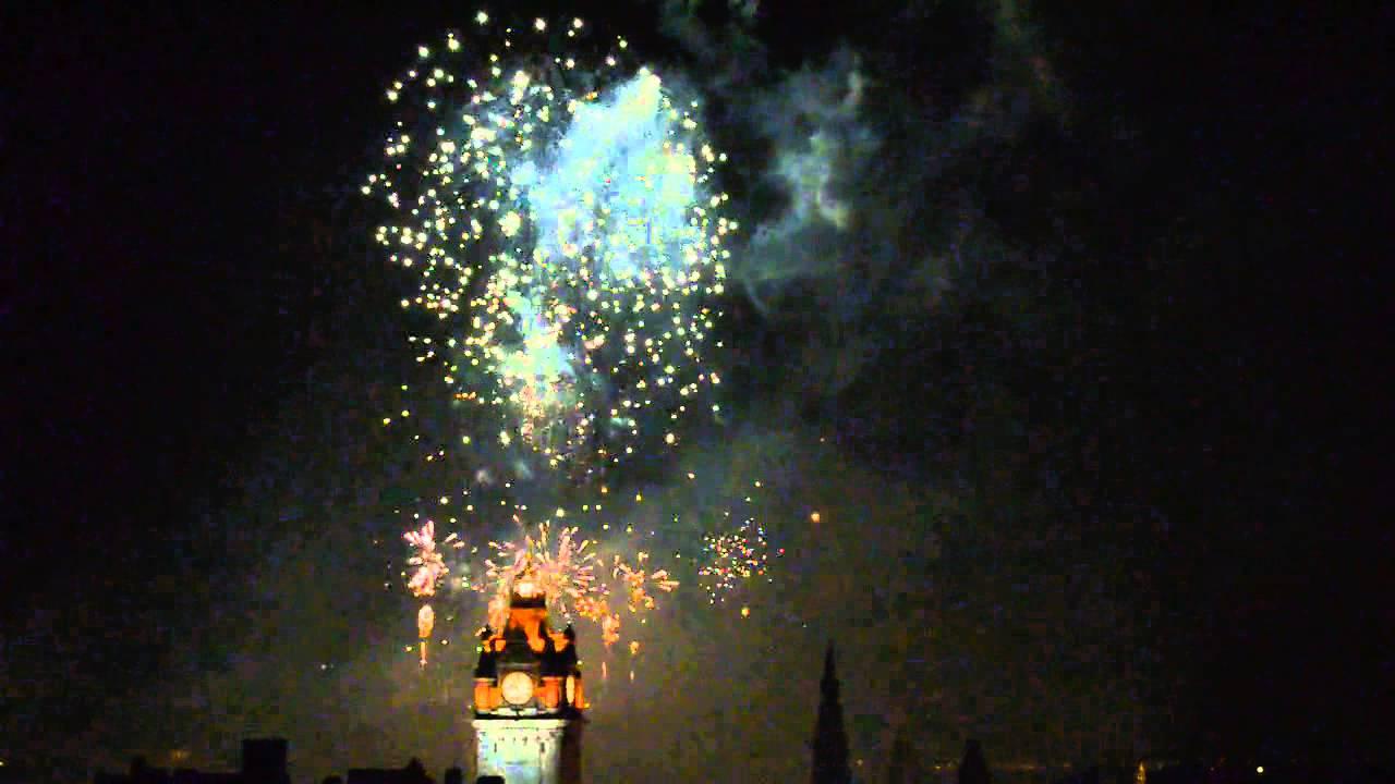 End Edinburgh Festival Fireworks Edinburgh Festival Fireworks