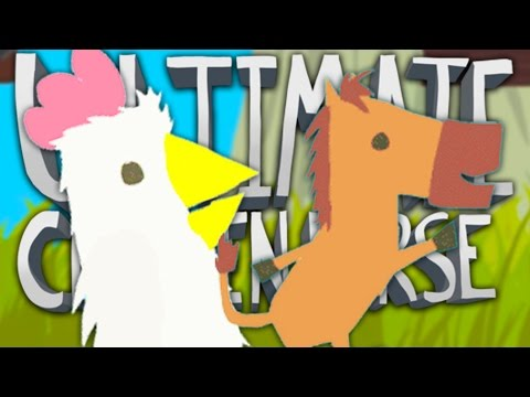 BE A D**K TO YOUR FRIENDS!!   Ultimate Chicken Horse