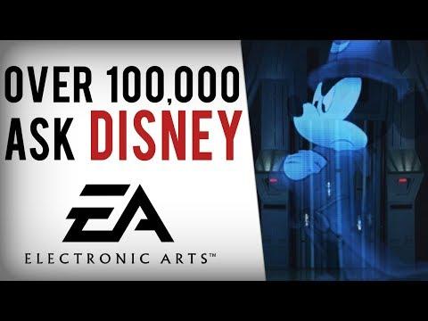 Over 100,000 Request Disney CANCEL EA's Star Wars License