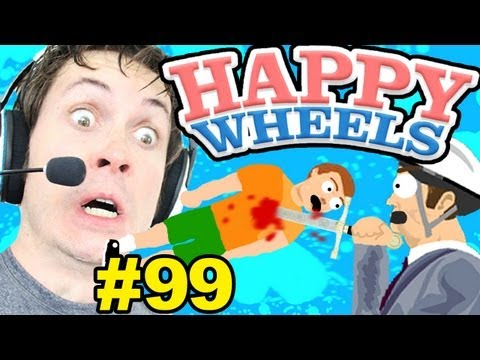 Happy Wheels - STAB AND THROW