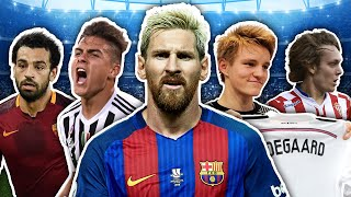 10 Players Labelled The Next Lionel Messi | Dybala, Salah & More!