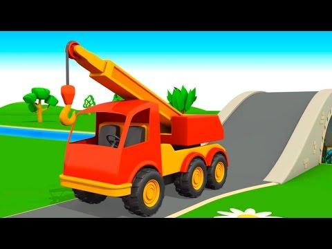 Мультик раскраска про строительные машины 132