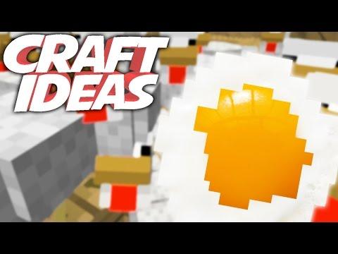 SPIEGELEI   Minecraft Crafting Ideas!