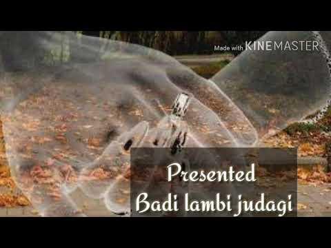 Badi lambi judai unplugged cover sing by sujeet singh