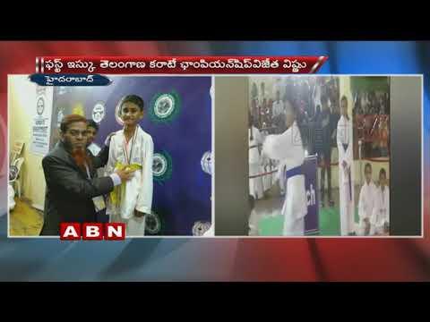 ISKU Telangana state invitational Karate Championship 2018