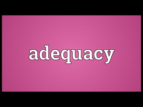 Header of adequacy