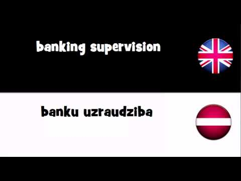 SAY IT IN 20 LANGUAGES = banking supervision