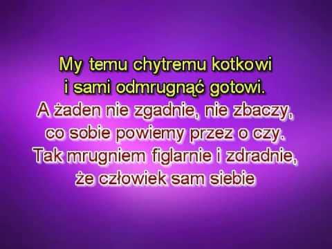Karaoke Wlazł Kotek Na Płotek Wersja 2 Szybka ( Www.letsing.pl )