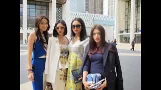 TRESemmé - Style Seeker Hunt Winner Journey - MBFW Update Outside Fashion Tent