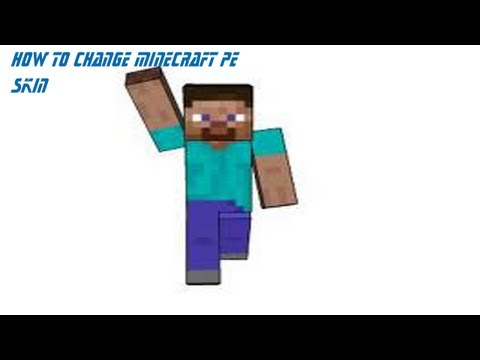 How To Change Minecraft PE Skin For IPad.IPhone. and IPod Touch (No Jailbreak)