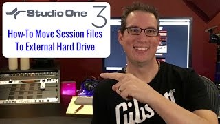 Presonus Studio One 3 - How to Move Session Files to an External Hard Drive