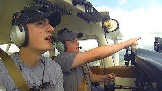 Flying through Houston Bravo Airspace: TRAFFIC EVERYWHERE!