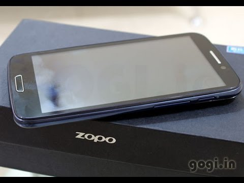 Zopo 910 unboxing and review - 5.3 inch quad core handset