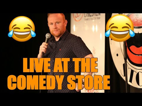 Rory O'Hanlon at the  comedy store london