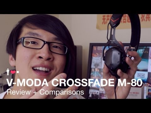 V-Moda Crossfade M-80 Portable Headphone Review