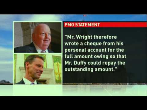 PM's chief of staff paid off Duffy's expenses