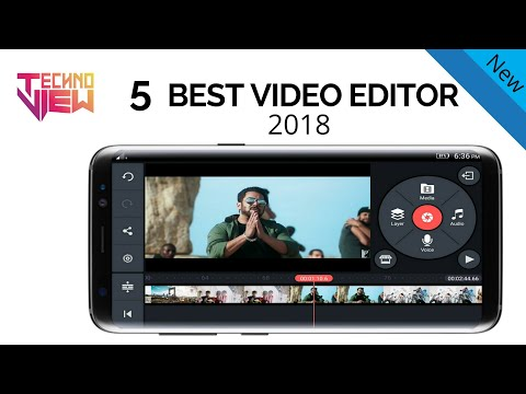 Top 5 Best Video Editing Apps For Android 2017/2018 | technoview
