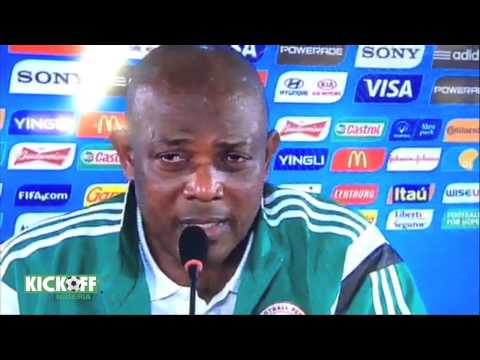 Stephen Keshi hits out...