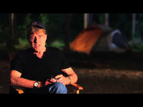 """A Walk In The Woods: Robert Redford """"Bill Bryson"""" Behind The Scenes Movie Interview"""