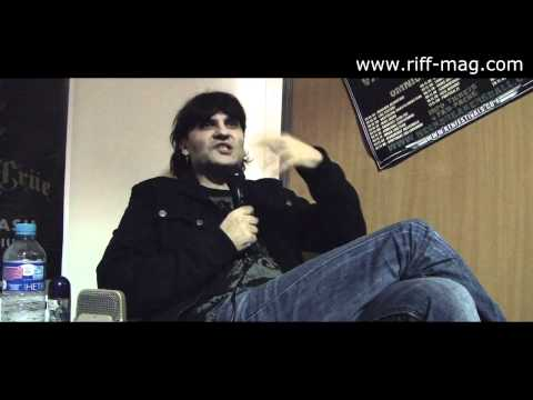 Luca Turilli | Luca Turilli's Rhapsody interview at Hellfest 2012 (no clip version)