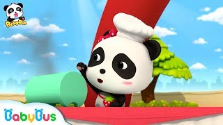 Baby Panda's Oven is Broken | Magical Chinese Characters | Kids Cartoon | Funny Cartoon | BabyBus