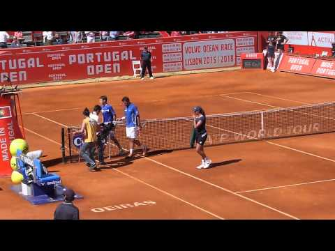 Match Point: Pablo Carreño-Busta v Stanislas Wawrinka - Portugal Open 2013