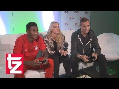 FIFA 15: David Alaba an der Konsole gegen Kai Pflaume