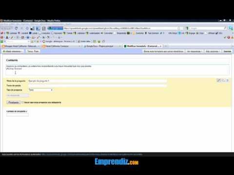 Cómo poner un formulario de contacto en Blogger