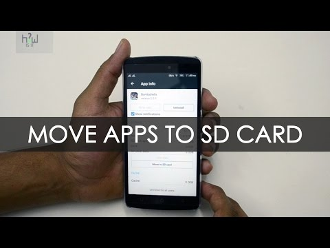 How to move apps to SD card ? in Lenovo K4 note   HowiSiT