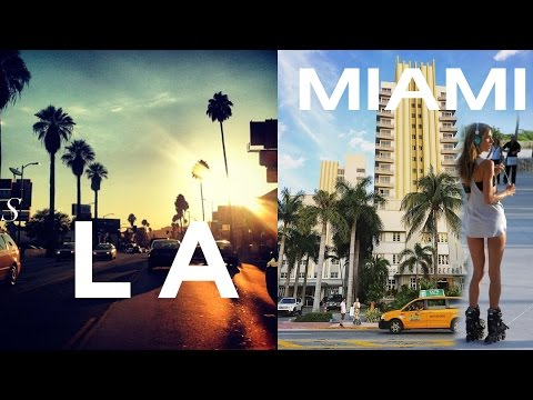 Лос-Анджелес или Майами. Что Круче?