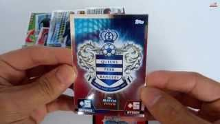 UNBOXING: 3 Sobres Topps Match Attax 2014-2015 [2]