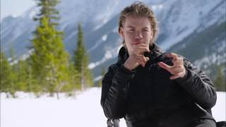 The Revenant Behind The Scenes Interview - Will Poulter