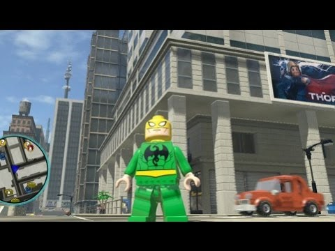 how to get silver surfer in lego marvel superheroes