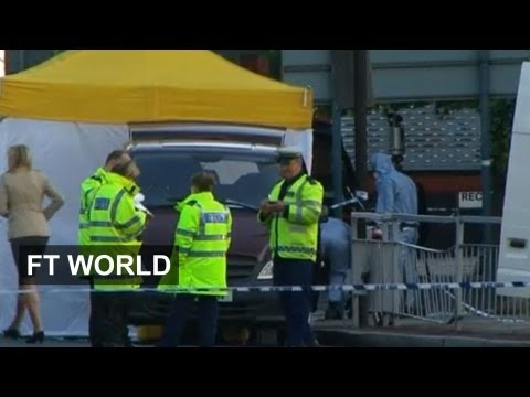 London killing 'terror related'