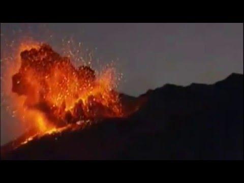 Sakurajima Volcano Erupting in Japan   Today Friday 5th February 2016