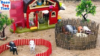 Cattle comes to the farm -  Fun Animals Toys For Kids