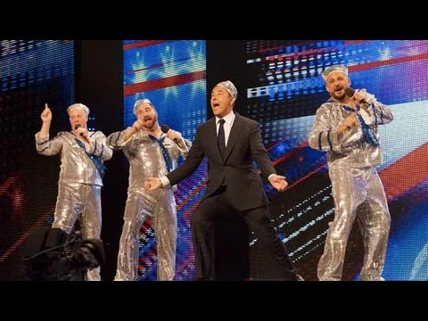 Singing sailors The Showbears - Britain's Got Talent 2012 audition - UK version