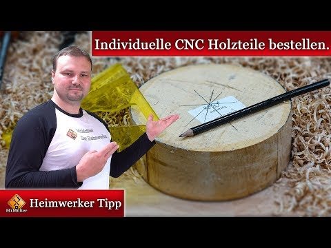 CNC Holzbearbeitung / Individuelle Holzteile anfertigen lassen.