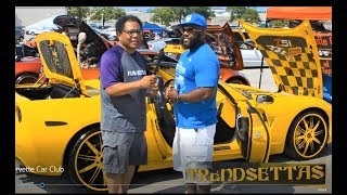 Donta with TrendSettas Corvette Club
