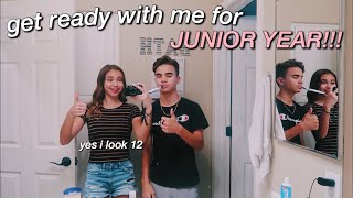 FIRST DAY OF SCHOOL GRWM (junior year)