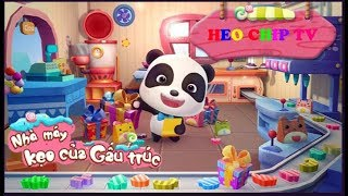 Cửa hàng kẹo | Games giáo dục cho trẻ | Baby Panda Games | Babybus Kids Games