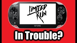 No More PS Vita Games From Limited Run?