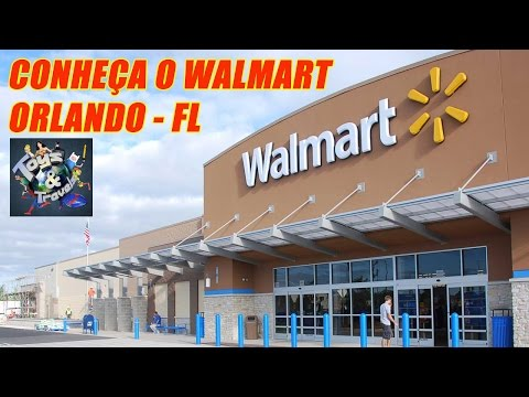 Dicas EUA - Conhea o Walmart de Orlando-FL