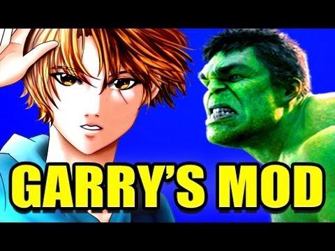 Gmod INCREDIBLE HULK Mod! (Garry's Mod)