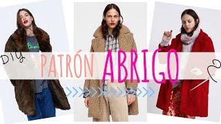 DIY Patrón ABRIGO para Mujer MUY FÁCIL!!   Aprende a coser tu propio abrigo Oversize - 1a Parte