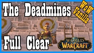 Vanilla Deadmines as a Gnome Mage! [Classic World of Warcraft Let's Play]