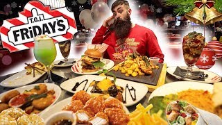 THE TGI FRIDAY'S FESTIVE MENU FEAST CHALLENGE | C.O.B. Ep.90
