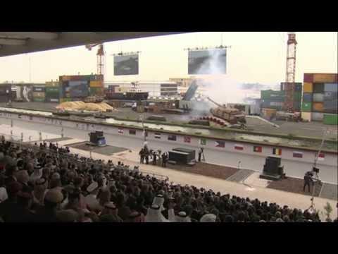 Sudan's Omar Al-Bashir attends Mid-East's Largest Arms Fair - BBC News