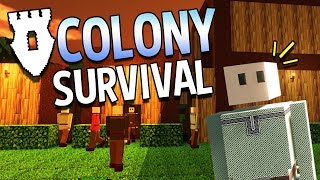 Colony Survival - #1 - Shared Kingdom (4-Player Online!)